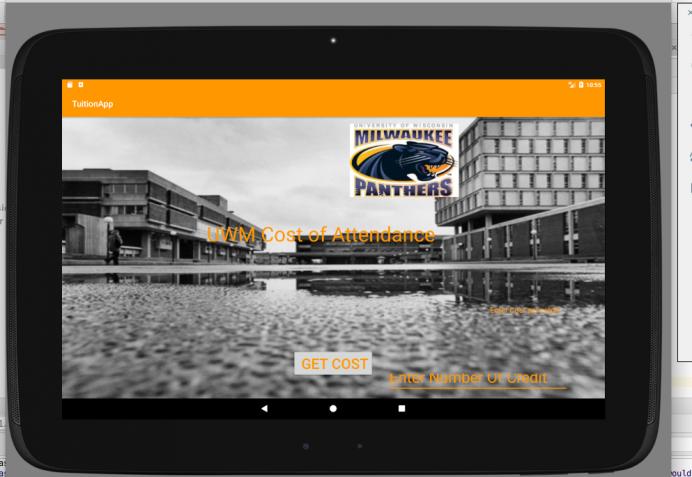 UWM Tuition App
