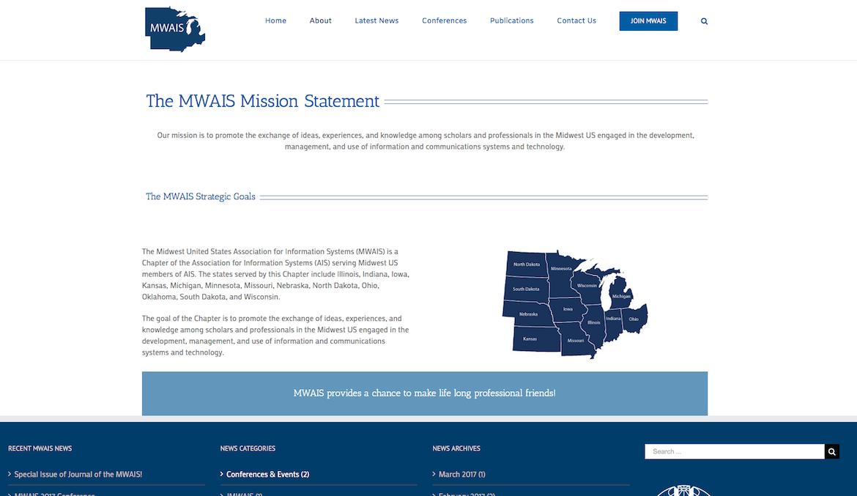 MWAIS about us page