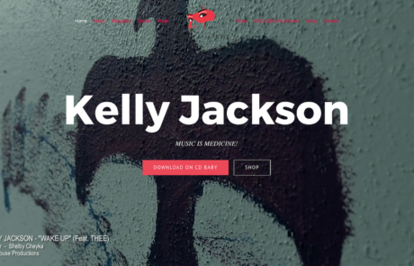 Kelly Jackson Home page