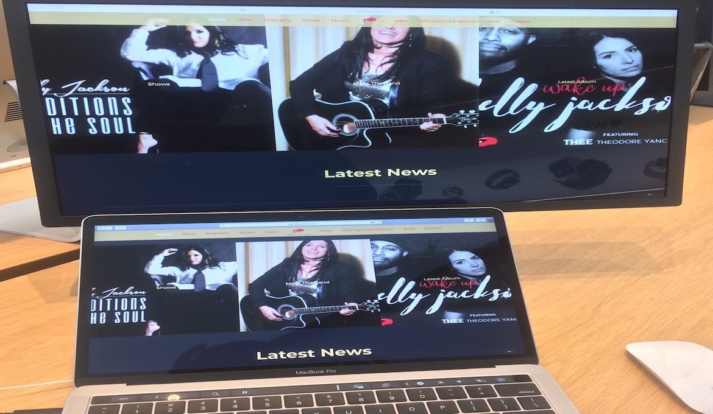 KJ website on tablet, mobile and desktop