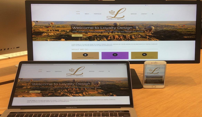 Loyalty Design On Mobile, Desktop and Laptop