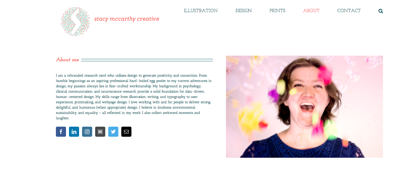 Stacy McCarthy Creative Home Page